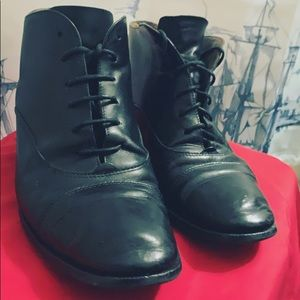 Vintage Black Italian Etienne Aigner Leather Boots